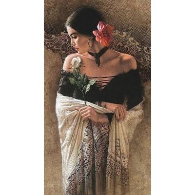 Елмазен гоблен Красивата танцьорка на Фламенко