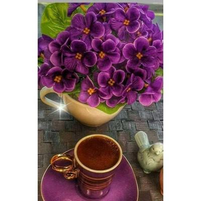 Диамантен гоблен Виолетова наслада