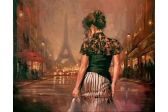 Диамантен гоблен Kрасавица в Париж