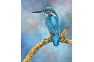 Елмазен гоблен Синьо птиче