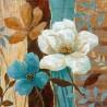 Диамантен гоблен Синьо, бяло, бежово