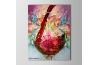 Елмазен гоблен Руйно вино