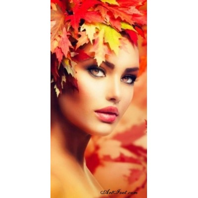 Диамантен гоблен Есенна красавица