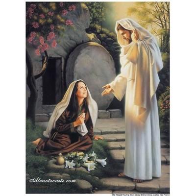 Диамантен гоблен Исус среща Мария Магдалена